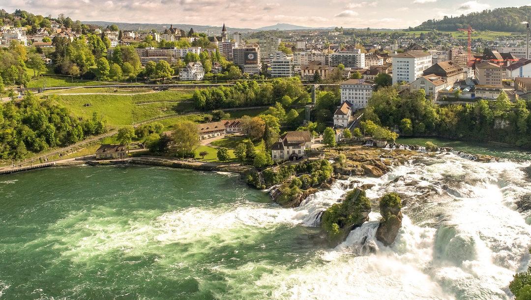 Die zweite Tour de Suisse Etappe 2020 startet in Neuhausen am Rheinfall (SH)