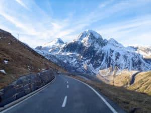 Prix de la montagne col du Nufenen