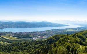 Le lac de Zürich