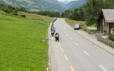On three-wheels at the Tour de Suisse?