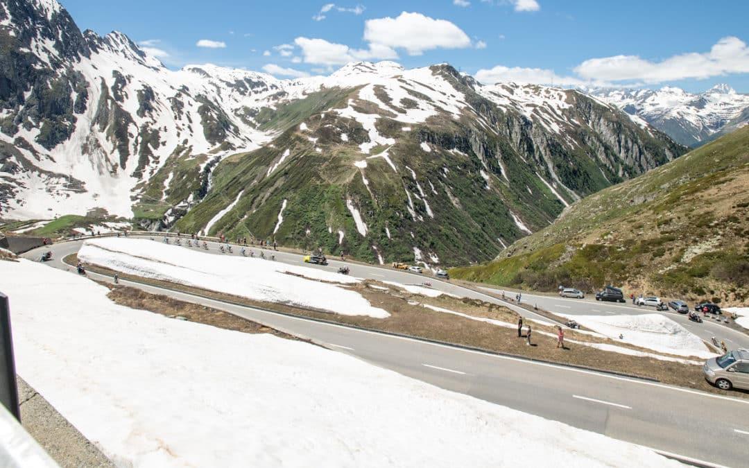 Die Streckenführung der Tour de Suisse 2021