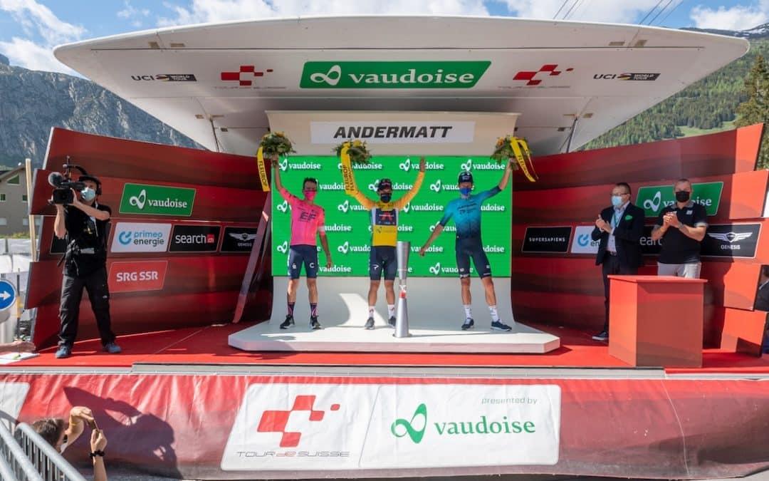Die Höhepunkte der Tour de Suisse 2021 by Vaudoise Versicherungen