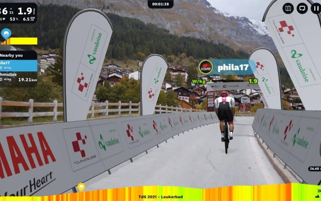 Participez au Tour de Suisse avec ROUVY